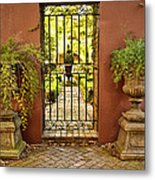 Guardians Of The Garden Metal Print