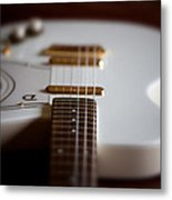Guitar Glance Metal Print