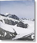 Gulkana Glacier Metal Print