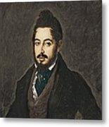 Gutierrez De La Vega, Jos� 1791-1865 Metal Print
