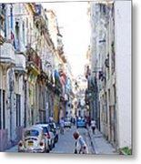 Habana Street Metal Print