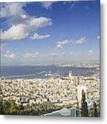 Haifa Bay Panorama Metal Print