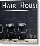 Hair House Metal Print