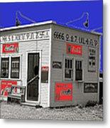 Hamburger Stand Coca-cola Signs Russell Lee Photo Farm Security Administration Dumas Texas 1939-2014 Metal Print