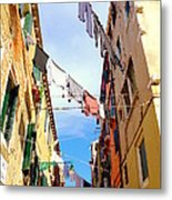 Hanging In Venice Metal Print