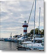 Harbourtown Harbor Metal Print