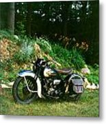 Harley Davidson  1935 Metal Print