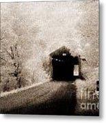 Harshaville Covered Bridge 35-01-02 Metal Print