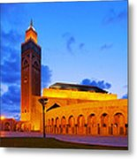 Hassan II Mosque In Casablanca Metal Print