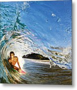 Makena Boogie Boarder Metal Print