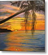 Hawaiian Sunset 11 Metal Print