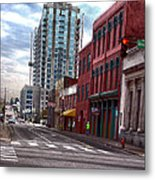 Street Photography Nashville Tn Metal Print