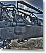 Hdr Image Of Pilots Equipped Metal Print