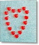 Heart Shape Metal Print by Tom Gowanlock