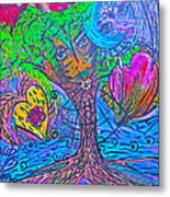 Hearts Of Nature Metal Print