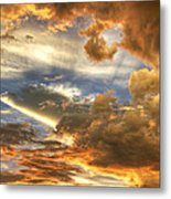 Heavenly Skies  Metal Print
