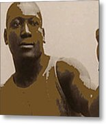 Heavyweight Boxing Champion Jack Johnson C.1910 Metal Print