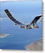 Helios Prototype, Solar-electric Metal Print