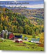 Hillside Acres Farm Metal Print