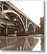 Historic Wil-cox Bridge Metal Print