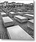 Holocaust Memorial - Berlin Metal Print