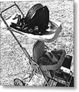 Holster  Brief Case  Baby Carriage Tombstone Arizona 1970 Metal Print