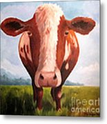 Holy Cow Metal Print by Paula Marsh