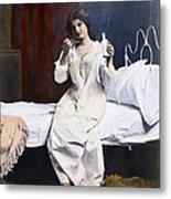 Home Medicine, 1901 Metal Print