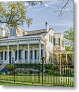 Home On St. Charles Ave - Nola Metal Print