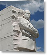 Honoring Martin Luther King Metal Print