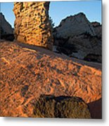Hoodoos At Sunset Metal Print
