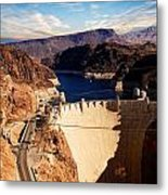 Hoover Dam Nevada Metal Print
