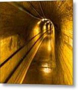 Hoover Dam Tunnel Metal Print