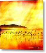 Hope On A Wing And A Prayer Metal Print