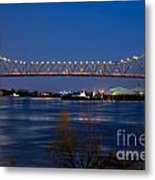 Horace Wilkinson Bridge Metal Print