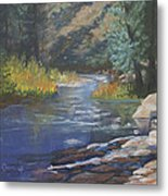 Horse Creek Metal Print