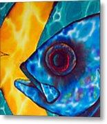 Horse -eyed Jack Metal Print