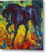 Horse Metal Print by Willson Lau