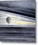 Hot Air Balloon, 1875 Metal Print