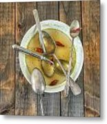 Hot Soup Metal Print