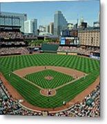 Houston Astros V Baltimore Orioles Metal Print