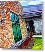 Howard County Library - Miller Branch Metal Print