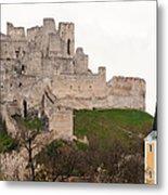 Hrad Beckov - Castle Metal Print