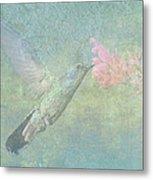 Hummingbird Tune Metal Print