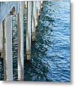 Huntington Beach Peer Metal Print
