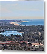 Huntington Beach View Metal Print