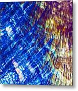 Hydroquinone Microcrystals Color Abstract Art Metal Print