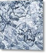 Ice Background Metal Print