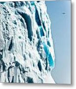 Ice Xxix Metal Print by David Pinsent