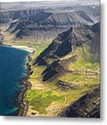 Iceland Plateau Mountains Metal Print